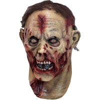 Adult Undead Zombie Horror Costume Mask - standard - one size