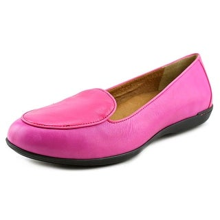 Dansko Nastacia Women Round Toe Leather Pink Loafer