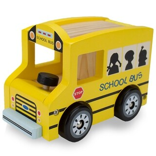 Wooden Wheels School Bus