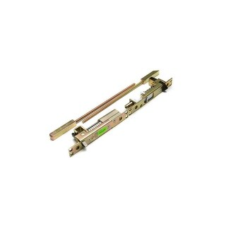 """Ives FB51P Top and Bottom Pair UL Listed Manual Flush Bolt for Metal Door 12"""" Rod and 3/4"""" Throw 1"""" W x 6 3/4"""" L x 2"""" D Body"""