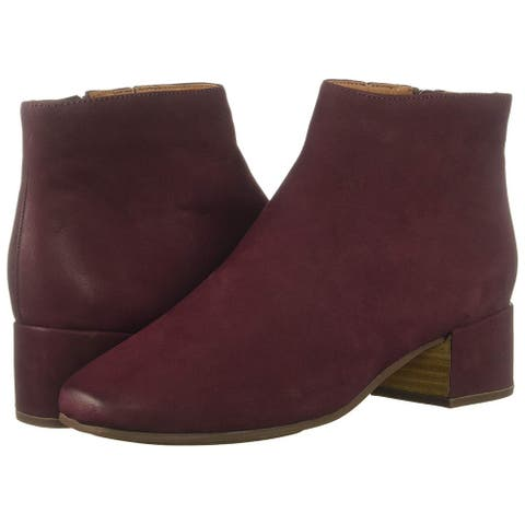 Gentle Souls Womens Ella Bootie Leather Closed Toe Ankle Fashion Boots