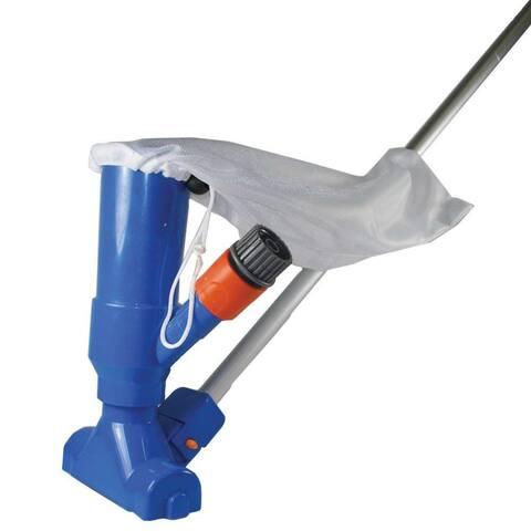 JED Pool Tools 30-152 Splasher Pool Venturi Vacuum with 6' Pole