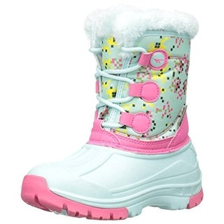 Hi-Tec Girls Cornice Jr Little Kid Printed Snow Boots