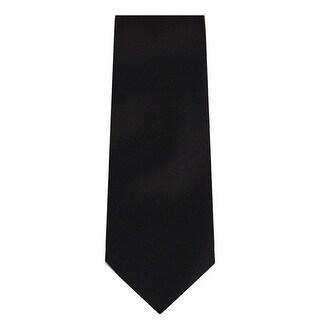 Marquis Men's Solid Neck Tie & Hanky Set