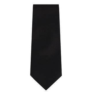 Marquis Men's Solid Slim Neck Tie & Hanky Set