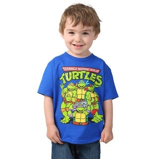 Toddler TMNT Group Royal T-Shirt - 2T