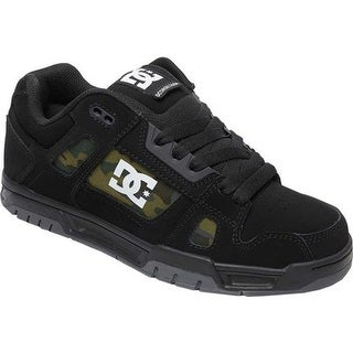 DC Shoes Men's Stag SP Sneaker Black/Military Camo