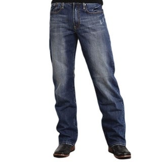 Stetson Western Denim Jeans Mens Royal 11-004-1312-4003 BU