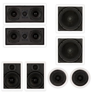 In Wall Speakers Home Theater in wall/in ceiling speakers - shop the best deals for sep 2017