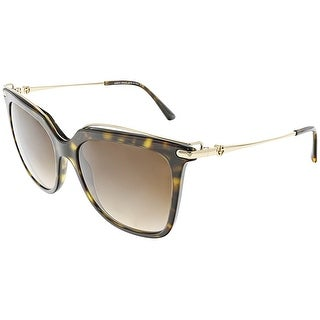 Giorgio Armani Women's Gradient AR8091-502613-55 Brown Square Sunglasses