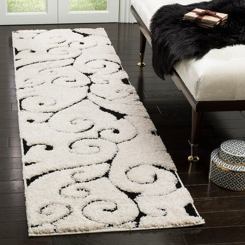 Safavieh Florida Shag Shahin Scroll 1.2-inch Thick Rug