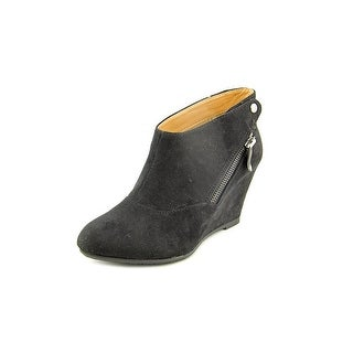 CL By Laundry Valerie Women Round Toe Synthetic Black Bootie