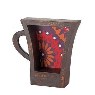 KoehlerGroup 10017107 Dark Coffee Cup Shelf