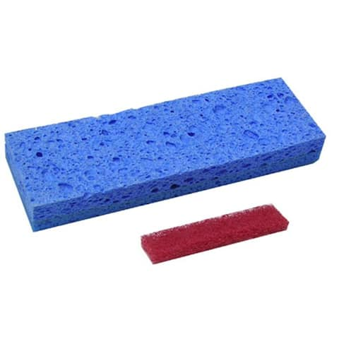 Quickie 0512-6/12 Super Squeeze Sponge Mop Refill, #051