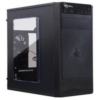 Rosewill Case FBM-X1 1x120mm Fan 2xUSB 2.0/3.0 ATX Black Computer Case Retail