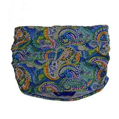 Ralph Lauren Women's Plus Size Swim Skirt, Multi (20W)