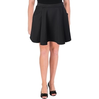 Aqua Womens Pocket Mini A-Line Skirt