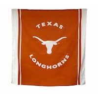 Texas Longhorns Fabric Shower Curtain 71 X 71 in. - Orange