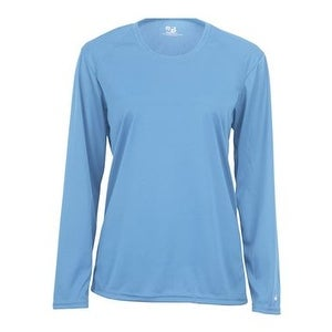 935cd30d Shop B-Core Women's Long Sleeve T-Shirt - Columbia Blue - 2XL - Free  Shipping On Orders Over $45 - Overstock - 15984064