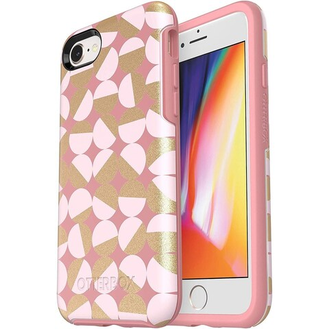 iPhone 8 & 7 OtterBox Symmetry Series Protective Case - Pink Gold - mod about you