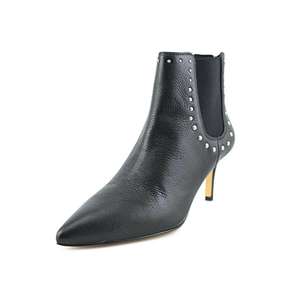 424 Fifth Womens Dyllon Ankle Boots Leather Studded - 6.5 medium (b,m)