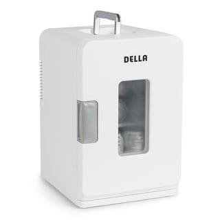 Della Portable Mini Fridge Cooler and Warmer 15L Home ,Office, Car, Rv Camping, Boat
