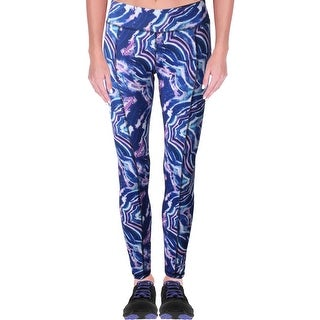 Central Park Womens Athletic Leggings Printed Quick Dry