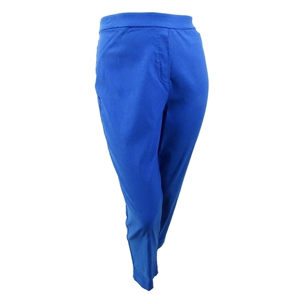 Alfred Dunner Women's Plus Size Straight-Leg Pull-On Pants. Opens flyout.