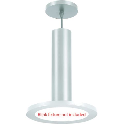 "Nuvo Lighting 62/1302 BLINK Slim 9"" Pendant Conversion Kit - - White"