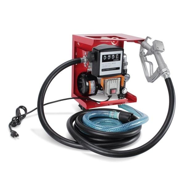 Shop ARKSEN Electric 110V Diesel Fuel Transfer Pump Meter 13