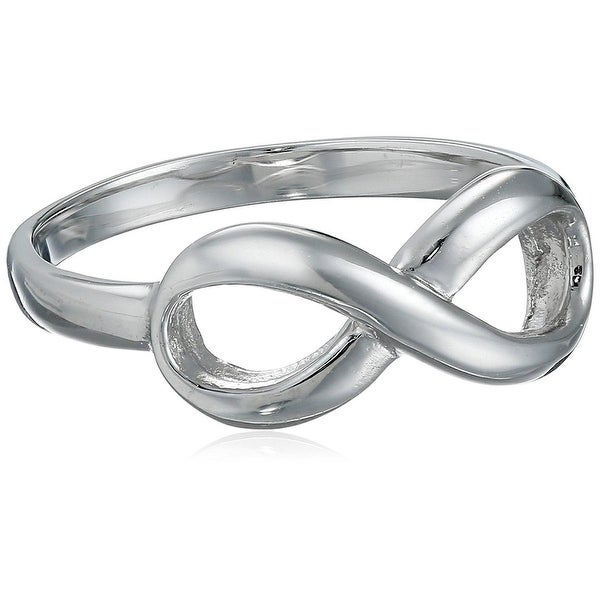 Tioneer Womens Right-Hand Ring Sterling Silver Infinity