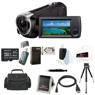 Sony HD Video Recording HDRCX405 HDR-CX405/B Handycam Camcorder with 32GB Deluxe Accessory Kit