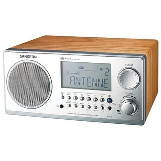 Sangean America - Wr-2Wl - Analog Cabinet Tabletop Radio