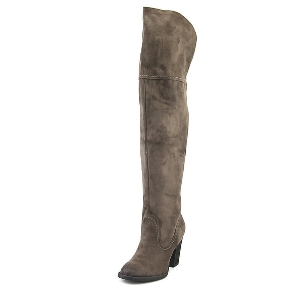 Not Rated Andra Women Round Toe Canvas Over the Knee Boot