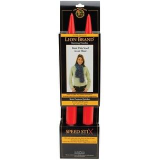 "Single Point Knitting Needles 14""-Size 50/25mm"