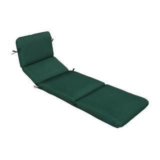 Casual Cushion 301-1455 Chaise Cushion, Green
