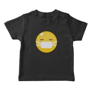 Sleepy Sick Emoji Girl's T-shirt (More options available)
