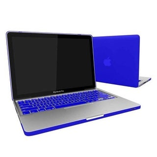 Ultra Thin Hard Plastic Case MacBook Air Rubberized Hard Cover with Skin for Macbook Air 11 (A1370 / A1465) - Royal Blue