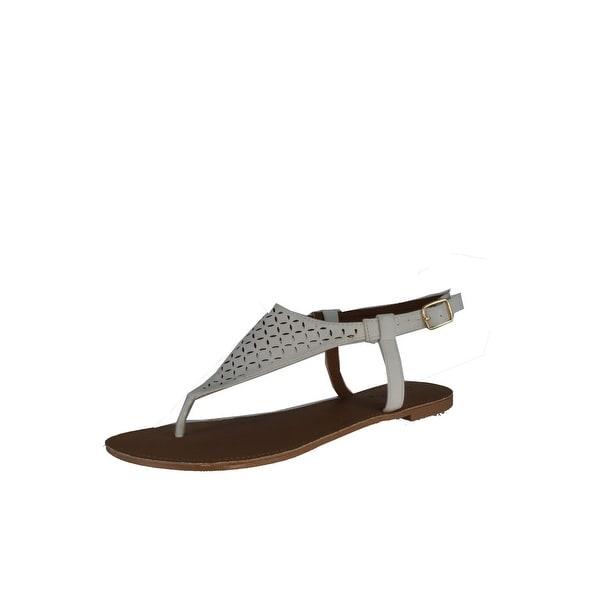 Qupid Women's Athena-717 Strap Sandals - White
