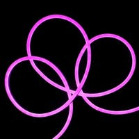 50' LED Commercial Grade Purple Neon Style Flexible Christmas Rope Lights