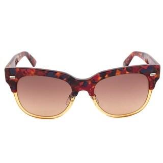 Gucci GG 3744/S XC4/63 Sunglasses Brown Frame Yellow/Orange Lens