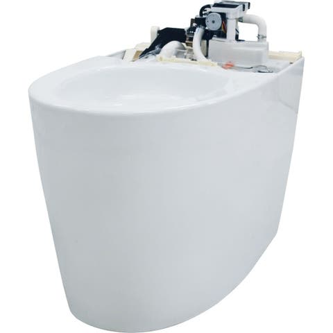 Toto CT989CUMFG Neorest RH 1.0 / 0.8 GPF Dual Flush One-Piece Elongated Chair Height Toilet