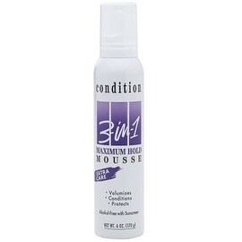 CONDITION 3-in-1 Maximum Hold Mousse 6 oz