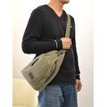 Vintage Canvas Satchel School Military Men's Hiking Shoulder Bag Messenger Bag - Thumbnail 11