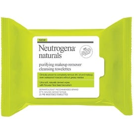 Neutrogena Naturals Purifying Makeup Remover Cleansing Towelettes 25 ea