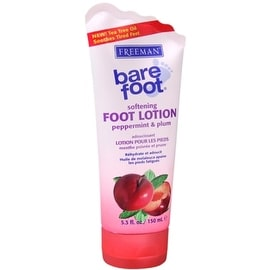 Freeman Bare Foot Softening 5.3-ounce Foot Lotion Peppermint & Plum