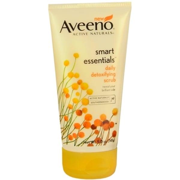 AVEENO Active Naturals Smart Essentials Daily Detoxifying Scrub 5 oz