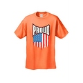 MEN'S T-SHIRT Proud American Distress Flag PATRIOTIC USA STARS & STRIPS TEE S-5X - Thumbnail 3