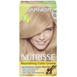 Garnier Nutrisse Nourishing Color Crème, Light Natural Blonde [90] 1 ea