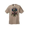 Men's T-Shirt USA Flag Honor Their Sacrifice Veteran American Bald Eagle Military - Thumbnail 7